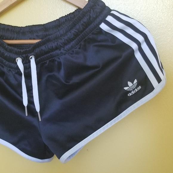 adidas satin shorts